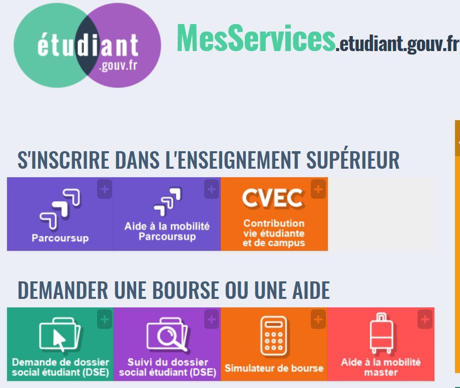 ETUDES SUPERIEURES: DEMANDE DE BOURSES / DOSSIER SOCIAL ETUDIANT - LOGEMENT - Actualités - Lycée André Citroen